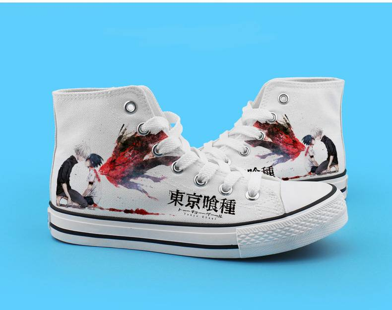 Anime Tokyo Ghoul Fashion Canvas Shoes
