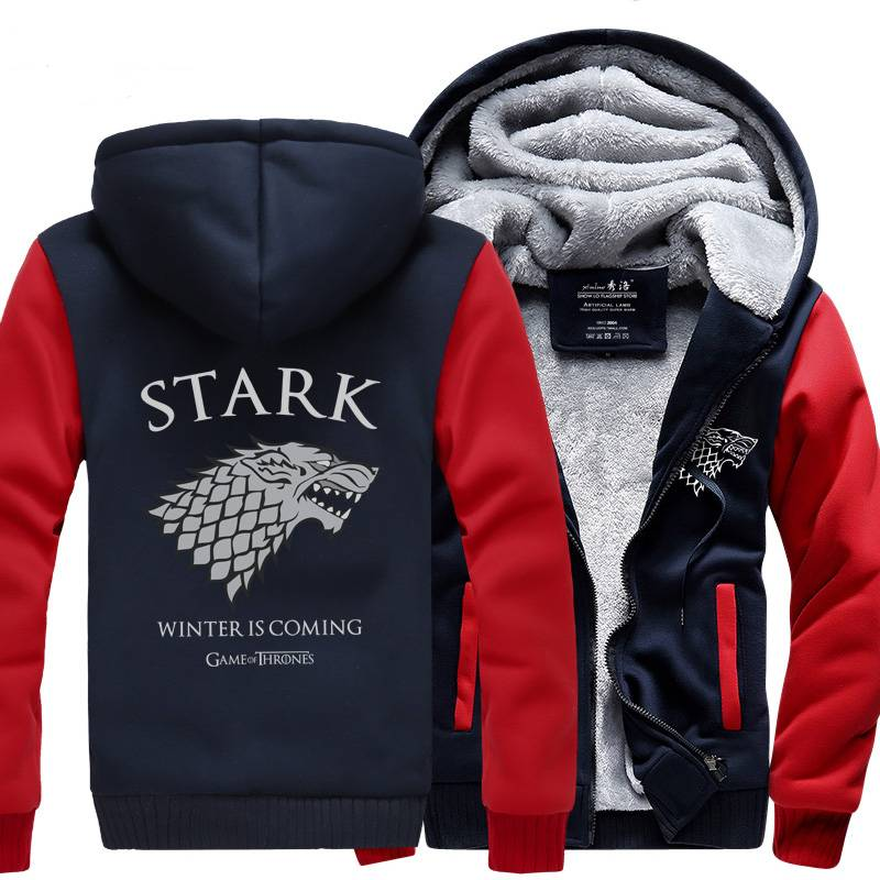 Game of Thrones Stark Hoodie Sweatshirt