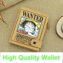Shop Anime Wallet One Piece Luffy Wallet Purse Men Wallet