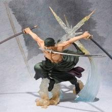 Anime One Piece 17cm Roronoa Zoro PVC Action Figure Collection Model Toys