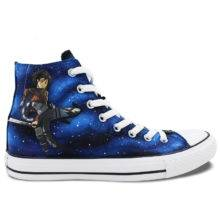 Hand Painted Shoes Titan shoes Sword Art Online Canvas Sneakers