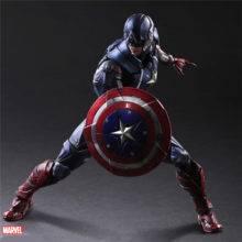Marvel legends toys 27cm Captain america figure Superhero toys Collectible action figures