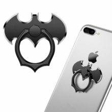 Luxury Batman Phone Holder Metal Universal Finger Ring for Smartphone Mobile Cell Phone