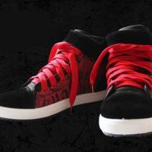Shoe warehouse Tokyo ghouls Ken Kaneki Cosplay Canvas Shoes