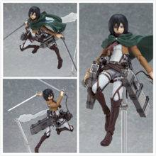 Attack on Titan Manga Anime Eren Mikasa Levi Rivaille Toy