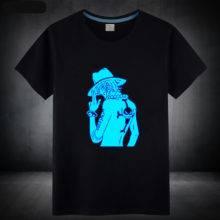 Mens Summer Anime One Piece T shirt 100% Cotton Luffy/Zoro