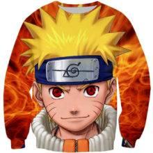 Anime Naruto Uzumaki 3D Print Unisex Pullovers Hoodies