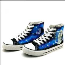 Canvas Shoes Attack On Titan Anime Luminous Shoes Cosplay Costume