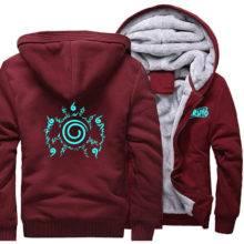 Spring Winter Anime Hoodie Casual Naruto Sweatshirts Luminous Jacket 2019