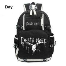 Japan Anime Death Note Backpack Travel Laptop Oxford Book Bags