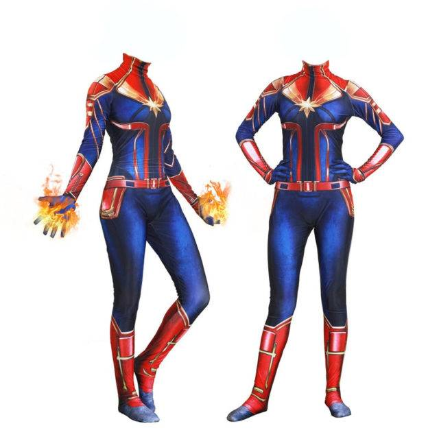 Women Captain Marvel Costume Womens Superhero Cosplay Dress Ladies Fancy Dress Test Mtransport No About 3% of these are tv & movie costumes, 0% are women's trousers & pants, and 0% are zentai / catsuit. therapology