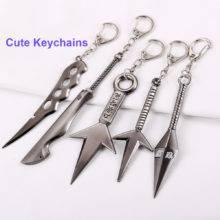 Cute Keychain Pendant Design Keyring Uchiha Anime Keychain