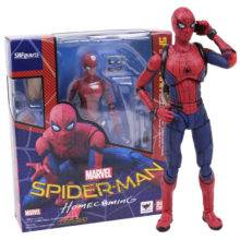 Spider Man Homecoming The Spiderman PVC Action Figure Collectible Toy 14cm
