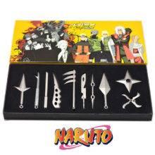 Ninja Star Toy Anime Japanese Naruto Metal 10 Pcs/Set