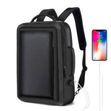 Leather Rucksack Smart Backpack Baggage Luggage Superstore