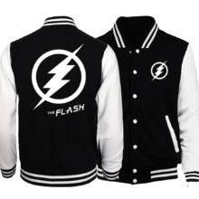 Anime The Flash Fashion Men Jacket Spring Baseball Hoodies
