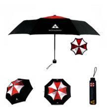 LIKE RAIN Creative Movie Biohazard Umbrella Fashion Men Folding Umbrella Women Anime Umbrellas Creative Movie Sun Umbrella UBY17