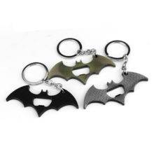 Superman Batman Keychains Bottle Opener Alloy Superhero Key Ring Holder
