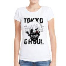 Funny T shirts Anime Tokyo Ghoul Ladies T Shirts Summer Tops