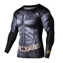 Women Superman Tops 3D T Shirts Superhero Fitness Tights
