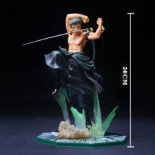 Zoro Figure Christmas Gift Anime One Piece Figures