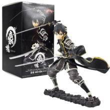 16cm Anime Sword Art Online Black Dark Tiger Kazuto Kirito Figure PVC Action Collectible Model Toys gifts