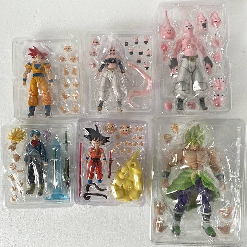 SH Figuarts SHF Dragon Ball Figure Anime Majin Buu Vegeta Android Trunks Super