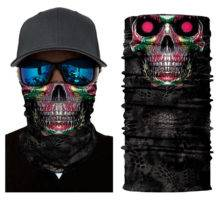 Halloween SKULL Ghost Face Windproof Mask Beanie Hat Outdoor Sports