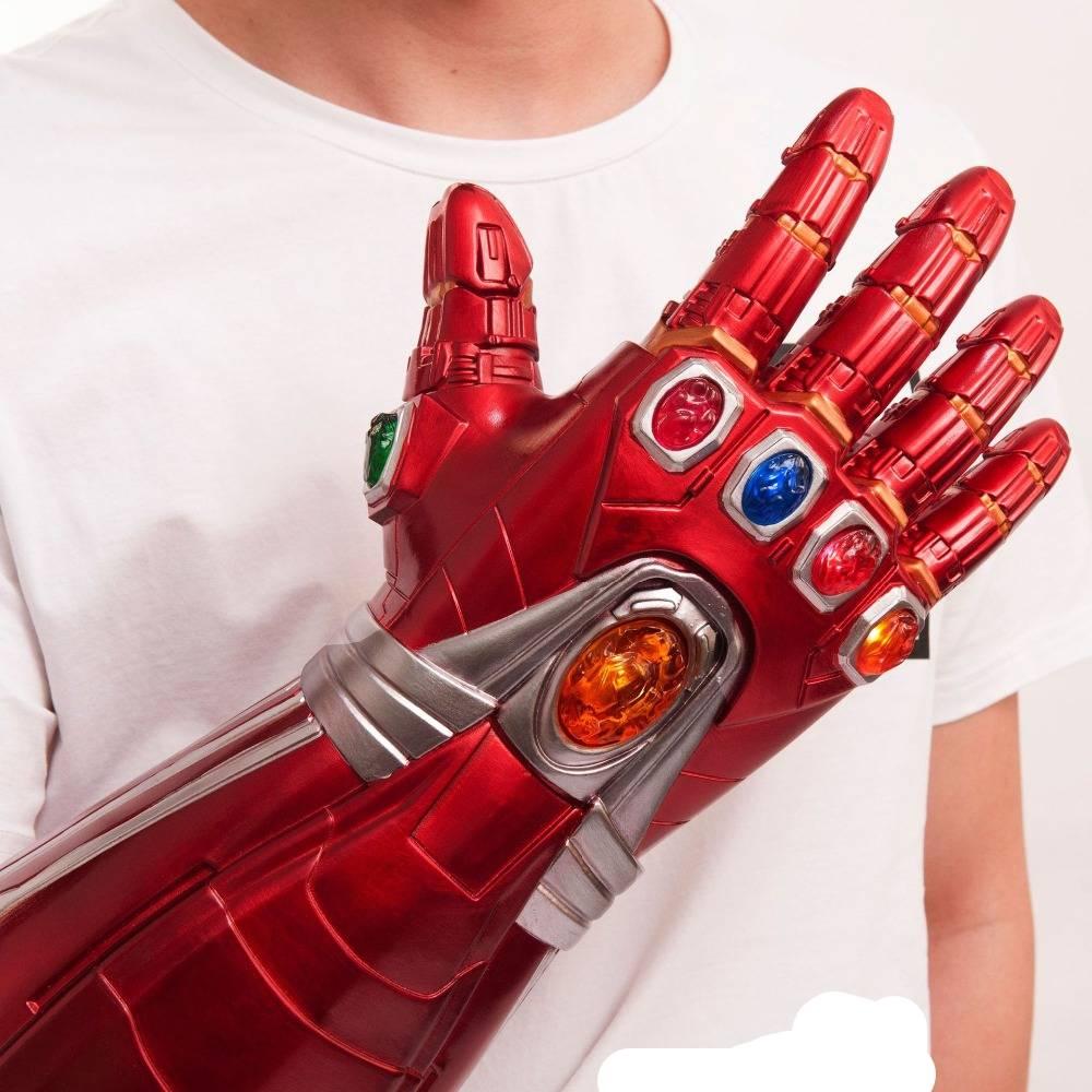 US Avengers Endgame Infinity Gauntlet Cosplay Iron Man Tony Stark Gloves Costume